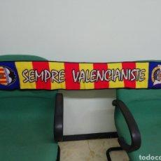 Coleccionismo deportivo: BUFANDA VALENCIA CF. Lote 216848135