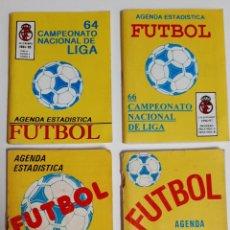 Coleccionismo deportivo: LOTE 4 AGENDA LIBRO ESTADISTICA FUTBOL CAMPEONATO NACIONAL LIGA 1991 1992 1993 1994 1995 1996 1997. Lote 216931638