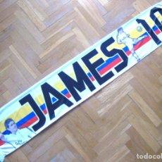 Coleccionismo deportivo: BUFANDA SCARF JAMES REAL MADRID COLOMBIA 2 CARAS DIFERENTES NUEVA SCHAL SCIARPA ECHARPE. Lote 218032503
