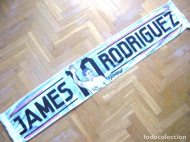 Coleccionismo deportivo: BUFANDA SCARF JAMES REAL MADRID COLOMBIA 2 CARAS DIFERENTES NUEVA SCHAL SCIARPA ECHARPE - Foto 2 - 218032503