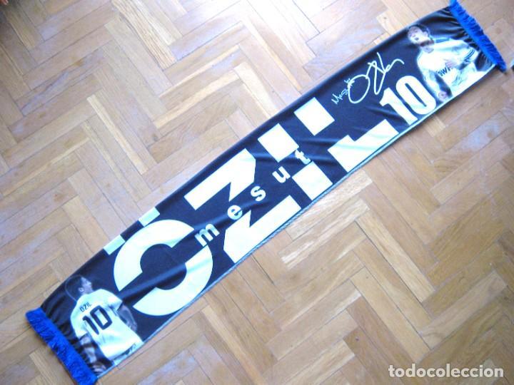 BUFANDA SCARF MESUT OZIL REAL MADRID GERMANY 2 CARAS NEW SCHAL SCIARPA ECHARPE ARSENAL FC (Coleccionismo Deportivo - Material Deportivo - Fútbol)