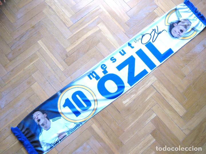 Coleccionismo deportivo: BUFANDA SCARF MESUT OZIL REAL MADRID GERMANY 2 CARAS NEW SCHAL SCIARPA ECHARPE ARSENAL FC - Foto 2 - 218032687