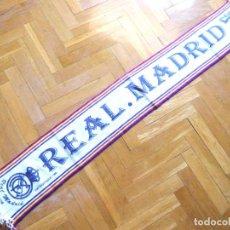 Coleccionismo deportivo: BUFANDA SCARV REAL MADRID BALONCESTO ACB BASKETBALL AÑOS' 80 ORIGINAL ! NUEVA !! R. Lote 218032878