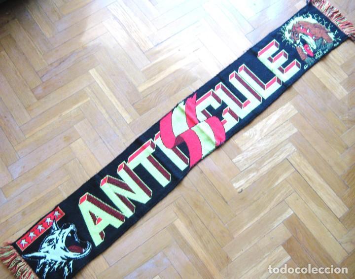 BUFANDA SCARV ANTI CULE ULTRAS SUR REAL MADRID FRENTE ATLETICO BULLDOG SCARF R (Coleccionismo Deportivo - Material Deportivo - Fútbol)