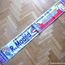 Coleccionismo deportivo: BUFANDA SCARF REAL MADRID - GALATASARAY CHAMPIONS LEAGUE 12-13 SCHAL ECHARPE R. Lote 218034342