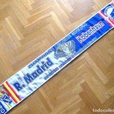 Coleccionismo deportivo: BUFANDA SCARF REAL MADRID – FC KOBENHAVN DENMARK 2013-14 CHL NEW SCHAL SCIARPA. Lote 218034641