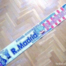 Coleccionismo deportivo: BUFANDA SCARF REAL MADRID – ATLETICO DE MADRID FINAL COPA REY 2013 NUEVA SCIARPA. Lote 218040301