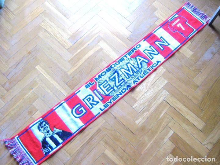 """BUFANDA SCARF ATLETICO DE MADRID GRIEZMANN FRANCE ACRILICA """" NEW """" SCARV ECHARPE (Coleccionismo Deportivo - Material Deportivo - Fútbol)"""