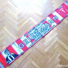 "Coleccionismo deportivo: BUFANDA SCARF ATLETICO DE MADRID GRIEZMANN FRANCE ACRILICA "" NEW "" SCARV ECHARPE. Lote 218040463"
