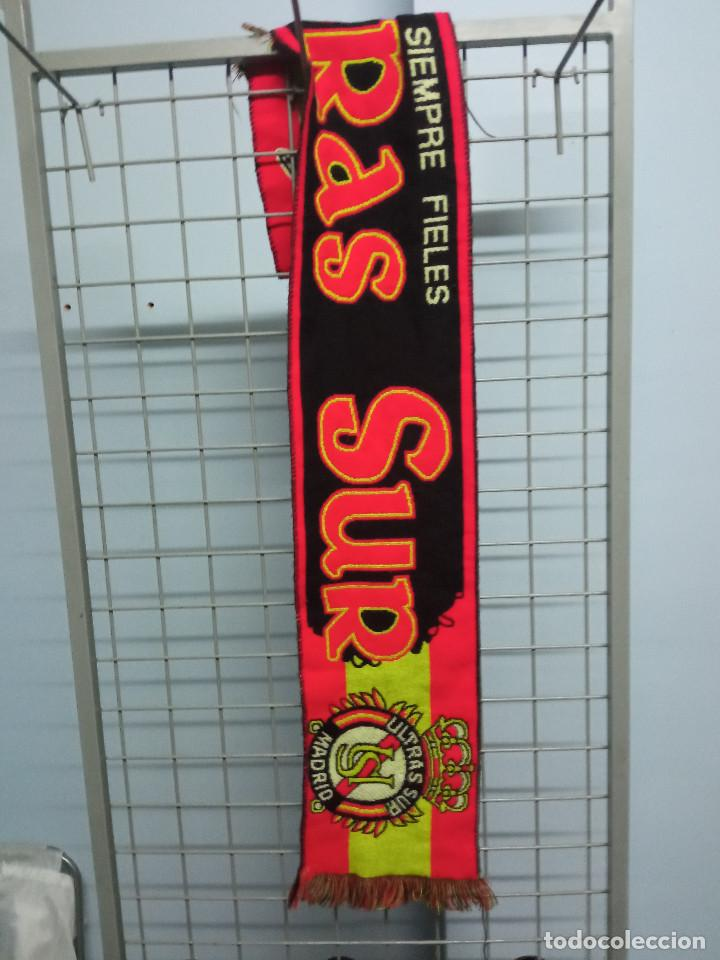 REAL MADRID ULTRASUR ULTRAS HOOLIGAN SKINHEADS ULTRAS SUR BUFANDA FUTBOL SCARF FOOTBALL (Coleccionismo Deportivo - Material Deportivo - Fútbol)