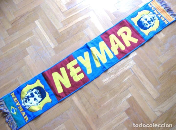 BUFANDA SCARF NEYMAR – FC BARCELONA PSG BRASIL NEW NUEVA SCHAL SCIARPA ECHARPE R (Coleccionismo Deportivo - Material Deportivo - Fútbol)