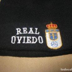 Coleccionismo deportivo: GORRO REAL OVIEDO CF ASTURIAS NUEVO NEW + BORDADA TOTAL ACRILICA AJUSTABLE CAP MUTZE R. Lote 218911770