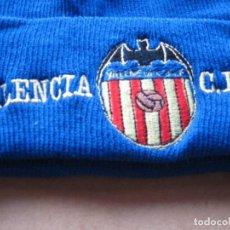 Coleccionismo deportivo: GORRO VALENCIA CF AZUL NUEVO NEW + BORDADA TOTAL ACRILICA AJUSTABLE CAP MUTZE R. Lote 218914425