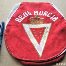 Coleccionismo deportivo: GORRA REAL MURCIA CF VISERA ANTIGUA Y NUEVA NEW + SERIGRAFIADA BORDE BLANCO CAP MUTZE R. Lote 218915181