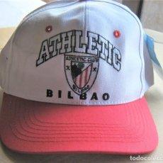 Coleccionismo deportivo: GORRA ATHLETIC CLUB BILBAO NUEVA NEW + OFICIAL + ETIQUETA + BORDADA CALIDAD AJUSTABLE CAP MUTZE. Lote 218916822