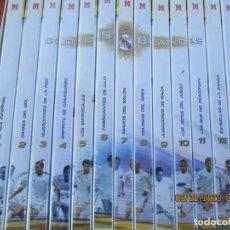 Coleccionismo deportivo: REAL MADRID GLORIAS BLANCAS - CAJA ESTUCHE 13 DVD 6 DE ELLLOS PRECINTADOS. Lote 219333686
