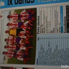 Coleccionismo deportivo: RECORTE DE DON BALON 2002-03.FOTO Y PLANTILLA DEL CD SANTANYI. Lote 221666493