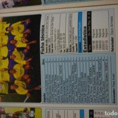Coleccionismo deportivo: RECORTE DE DON BALON 2002-03.FOTO Y PLANTILLA DEL CF SAN RAFAEL. Lote 221666621
