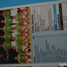 Coleccionismo deportivo: RECORTE DE DON BALON 2002-03.FOTO Y PLANTILLA DEL CD PAGUERA. Lote 221666873