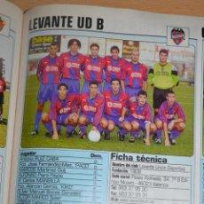 Coleccionismo deportivo: RECORTE DE DON BALON 2002-03.FOTO Y PLANTILLA DEL LEVANTE UD B. Lote 221795065