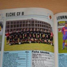 Coleccionismo deportivo: RECORTE DE DON BALON 2002-03.FOTO Y PLANTILLA DEL ELCHE CF B. Lote 221795312