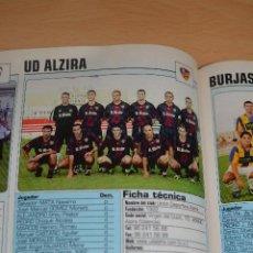 Coleccionismo deportivo: RECORTE DE DON BALON 2002-03.FOTO Y PLANTILLA DEL UD ALZIRA. Lote 221795962