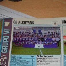Coleccionismo deportivo: RECORTE DE DON BALON 2002-03.FOTO Y PLANTILLA DEL CD ALCOYANO. Lote 221796022
