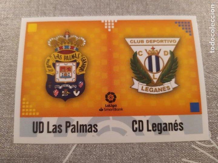 2020 / 2021 20 21 2ª EDICION ESCUDO Nº 5 LAS PALMAS / LEGANES NUEVO DE SOBRE (Coleccionismo Deportivo - Material Deportivo - Fútbol)