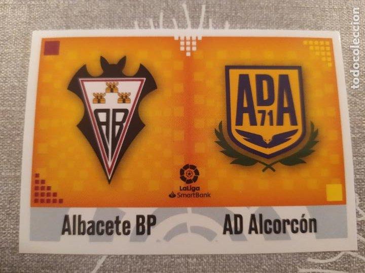 2020 / 2021 20 21 2ª EDICION ESCUDO Nº 1 ALBACETE / ALCORCON NUEVO DE SOBRE (Coleccionismo Deportivo - Material Deportivo - Fútbol)