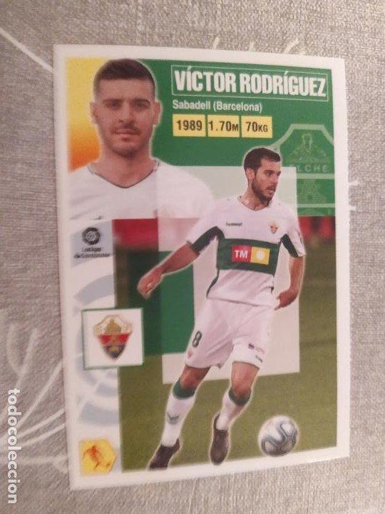 2020 / 2021 20 21 2ª EDICION ELCHE Nº 11 VICTOR RODRIGUEZ NUEVO DE SOBRE (Coleccionismo Deportivo - Material Deportivo - Fútbol)