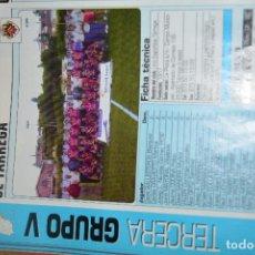Coleccionismo deportivo: RECORTE DE DON BALON 2002-03.FOTO Y PLANTILLA DEL UE TARREGA. Lote 222227297