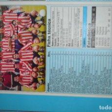 Coleccionismo deportivo: RECORTE DE DON BALON 2002-03.FOTO Y PLANTILLA DEL CE MANRESA. Lote 222227905