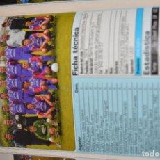 Coleccionismo deportivo: RECORTE DE DON BALON 2002-03.FOTO Y PLANTILLA DEL SD REVILLA. Lote 222228216