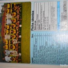 Coleccionismo deportivo: RECORTE DE DON BALON 2002-03.FOTO Y PLANTILLA DEL CD PONTEJOS. Lote 222228431