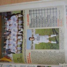 Coleccionismo deportivo: RECORTE DE DON BALON 1996-97.FOTO Y PLANTILLA DE TOMELLOSO. Lote 222247730
