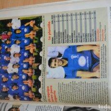 Coleccionismo deportivo: RECORTE DE DON BALON 1996-97.FOTO Y PLANTILLA DEL PEÑA SPORT. Lote 222247952