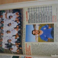 Coleccionismo deportivo: RECORTE DE DON BALON 1996-97.FOTO Y PLANTILLA DEL TENISCA. Lote 222248148