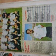Coleccionismo deportivo: RECORTE DE DON BALON 1996-97.FOTO Y PLANTILLA DEL CONSTANCIA. Lote 222248230