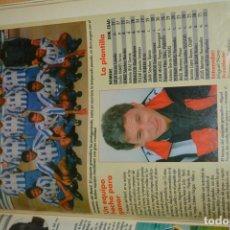Coleccionismo deportivo: RECORTE DE DON BALON 1996-97.FOTO Y PLANTILLA DEL MOTRIL CF. Lote 222248395