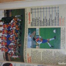 Coleccionismo deportivo: RECORTE DE DON BALON 1996-97.FOTO Y PLANTILLA DEL RAYO MAJADAHONDA. Lote 222248503