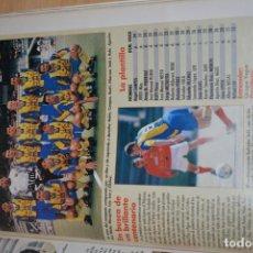 Coleccionismo deportivo: RECORTE DE DON BALON 1996-97.FOTO Y PLANTILLA DEL PALAMOS CF. Lote 222248632