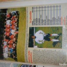 Coleccionismo deportivo: RECORTE DE DON BALON 1996-97.FOTO Y PLANTILLA DEL CD TOURING. Lote 222248712