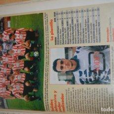 Coleccionismo deportivo: RECORTE DE DON BALON 1996-97.FOTO Y PLANTILLA DEL SIERO. Lote 222248918