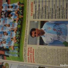 Coleccionismo deportivo: RECORTE DE DON BALON 1996-97.FOTO Y PLANTILLA DEL VISTA ALEGRE. Lote 222249005