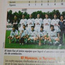 Coleccionismo deportivo: RECORTE DE DON BALON 1996-97.FOTO DEL REAL JAEN. Lote 222249543