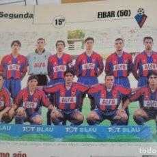 Colecionismo desportivo: RECORTE DE DON BALON 2000-01.FOTO Y LISTADO DE JUGADORES DEL SD EIBAR. Lote 222471931