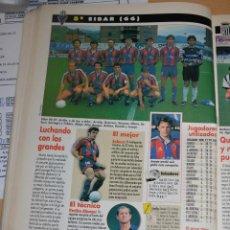 Colecionismo desportivo: RECORTE DE DON BALON 1996-97.FOTO DEL SD EIBAR. Lote 222482551