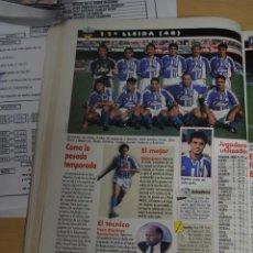 Collectionnisme sportif: RECORTE DE DON BALON 1996-97.FOTO DEL UE LLEIDA. Lote 222483127