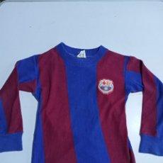 Coleccionismo deportivo: CAMISETA DEL C.F.B AÑOS 70 . TALLA NIÑOS. Lote 222925977