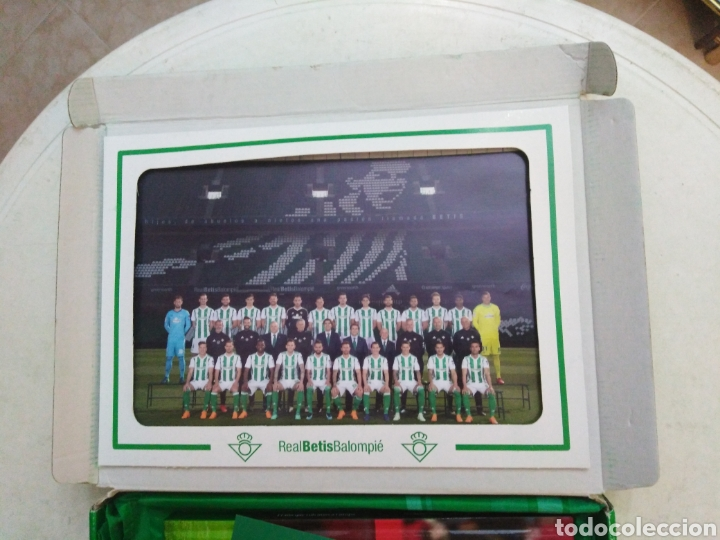 Coleccionismo deportivo: Caja soy betico, Real Betis Balompie ( 90X119 ) - Foto 6 - 223647835